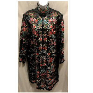 Vintage Size 40 Plum Blossoms Asian Jacket